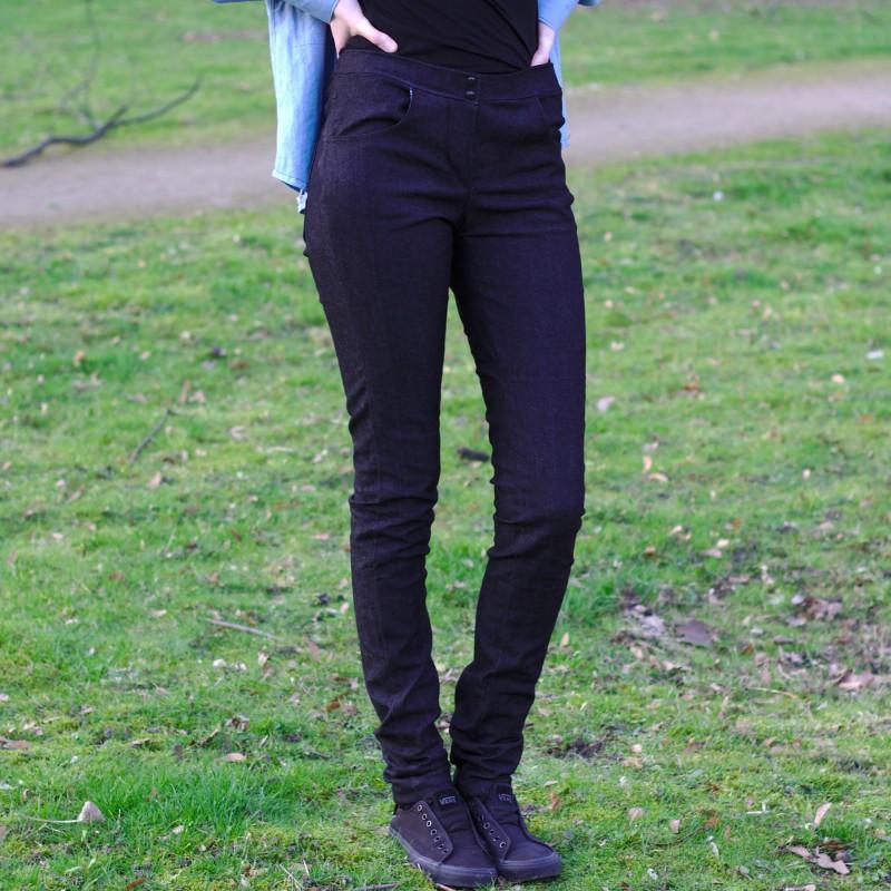 Meine erste Jeans bzw. die Grenzen meiner Nähmaschine