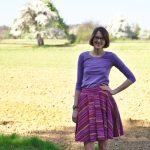 Tania Hosenrock und Plantain Shirt