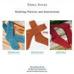 Erika Socks - Knitting Pattern And Instructions