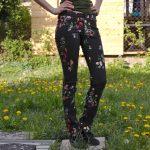 Florale Ginger Jeans