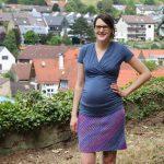 Outfit Along 19: Krausrippen Rock und Umstands-/Stillshirt