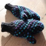 Warme Handschuhe stricken: thrumed mitts